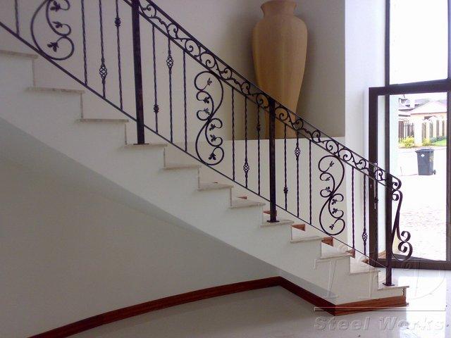 tpd steel works balustrades images. Black Bedroom Furniture Sets. Home Design Ideas