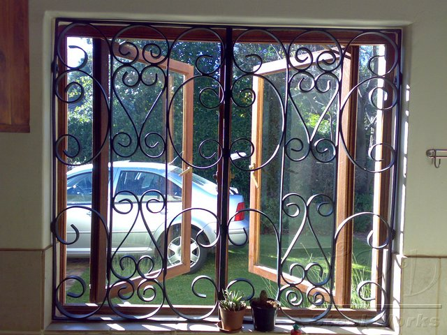 Wrought Iron Security Bars For Windows