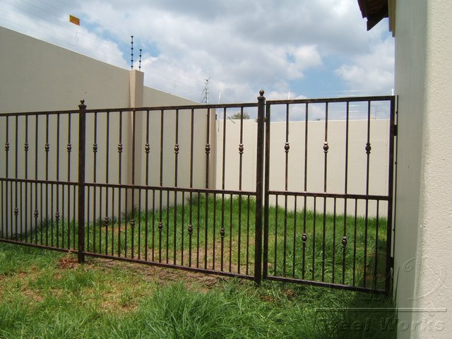 Steel Fencing Designs Tpd steel works fencing images mild steel garden fence design fencing workwithnaturefo