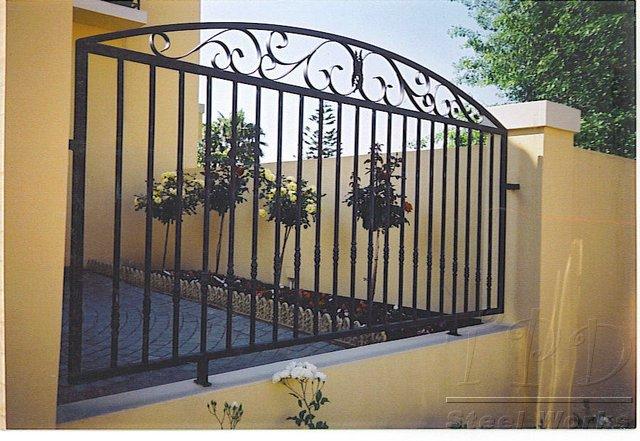 Steel Fencing Designs Tpd steel works fencing images fence design fencing workwithnaturefo