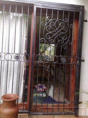 Patio Sliding Security Gate ...